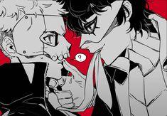 Persona Five, Persona 5 Anime, Persona 5 Joker, Ryuji Sakamoto, Ren Amamiya, Akira Kurusu, Shin Megami Tensei, 5 Image, Fanarts Anime