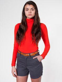 Unisex Cotton Twill Postal Short