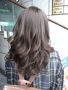 Pinterest: ☾OohmyJupiterr Permed Hairstyles, Cool Hairstyles, Asian Perm, Japanese Perm, Hair Inspo, Hair Inspiration, Digital Perm, Ashy Hair, Long Hair Waves