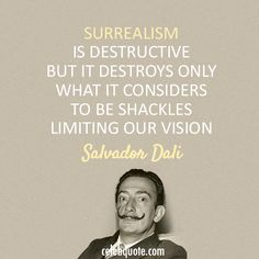 Salvador Dali Quotes Magnificent Salvador Dali Quote About Enemy  My World Of Art  Pinterest . 2017