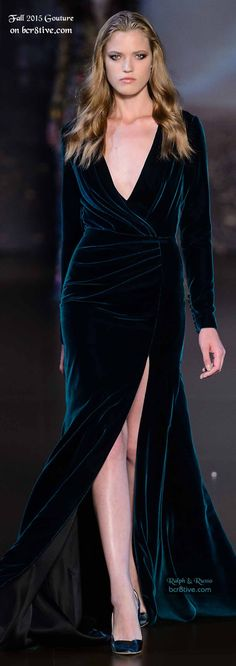 Ralph & Russo Couture Fall 2015-16. I have a serious love for velvet