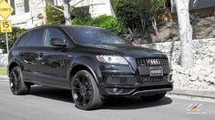 Audi Q7 with 22