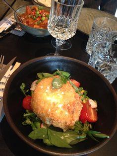 Leivitetty mozzarella aasialaisin mauin. #Lungi #ravintolat @VisitRauma #suomi-retki