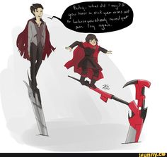 Qrow knows! He's the best at poses  -Erica^^