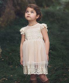 Look at this #zulilyfind! Blush Leilani Dress - Toddler