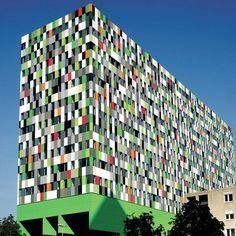 Utrect Student Housing - This awe-inspiring building in the Netherlands serves as housing for students at Utrecht University