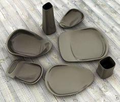 여심 유혹, 매력적인 미니멀리즘 접시 디자인 :: 디자인로그(DESIGN LOG)