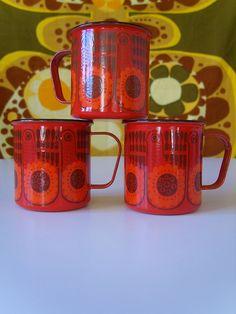 Bird by Kaj Franck Vintage Crockery, Vintage Enamelware, Vintage Ceramic, Nordic Design, Vintage Coffee, Marimekko, Retro Design, Scandinavian Design, Kitchenware
