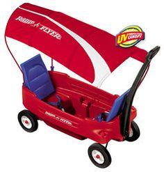 Wagon with shade.. Love!=)