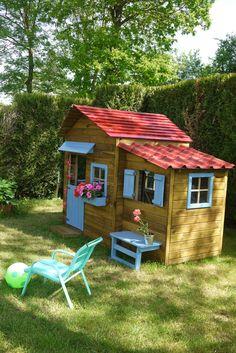 Maisonnette en bois family en 2019 oogarden concours - Maison d enfant pour jardin ...