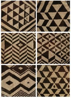 The power of black & white :-) beaded patterns from the folk art museum Maori Patterns, Textile Patterns, Beading Patterns, Print Patterns, Maori Designs, Tribal Designs, Textiles, Pattern Art, Pattern Design