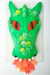 Now that's a dragon cake!!