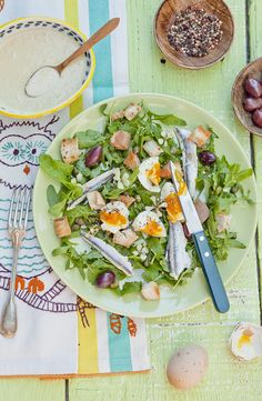 Rucola salad. © Frédérique Chartrand