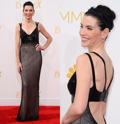 Fashion hits and misses for the 2014 Emmy Awards   Gallery   Wonderwall-Juliana Margulies