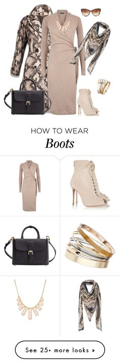 """""""outfit 2753"""" by natalyag on Polyvore featuring Gianvito Rossi, Burberry, Dorothy Perkins, Rivka Friedman and STELLA McCARTNEY"""