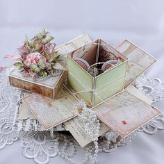 Exploding Box Card, Explosion Box, Decorative Boxes, Container, Gift Wrapping, Blog, Cards, Gifts, Gift Wrapping Paper