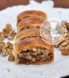Bafra Nokulu - Pratik Tatlı Tarifleri No Bake Desserts, Dessert Recipes, Turkish Recipes, Ethnic Recipes, Pasta Cake, Tasty, Yummy Food, Food Articles, Cake Cookies