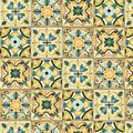 BOHEMIAN ROOSTERS TILES FABRIC - Blue Fabrics - Fabric - Nancy's Notions