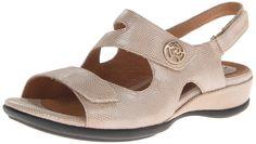 Clarks Women's Tiffani Aldora Wedge Sandal ** For more information, visit now : Platform sandals