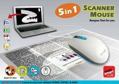 zcan+ scanner mouse Scan Quickly and Efficiently with the D+Oi ZCan+ Scanner Mouse-Giveaway