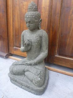 Hand Carved Green Stone Buddha Statue now available