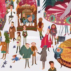 Moscow Winter Fair on Behance