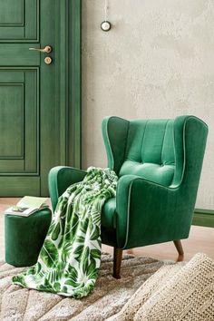 Cómo usar el verde vintage en decoración