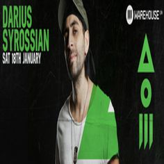 Darius Syrossian hits London hotspot Warehouse LDN, Unit H9, Hastingswood Trading Estate, Harbet Road, London, N18 3HT on January 18, 11:00 pm to 6:00 am. The full line-up features Darius Syrossian (ViVa Warriors / Hot Creations), Gardy and Damo Welsh. More info / tickets - follow this link: http://www.residentadvisor.net/event.aspx?548473. Price: Standard: £10, Adv: £15 OTD.