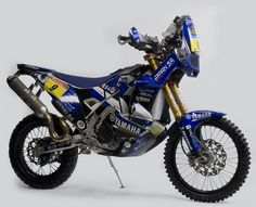 Yamaha WR450 Dakar Rally Racer.