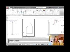 AutoCAD Tip -- How to Draw Clockwise Arcs and Fillet an Open Polyline to Itself - YouTube