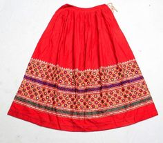 The item you just saw is an extraordinary tribal Rabari Skirt, which is single of its kind, and is perfect to be worn in any special event or party, and also it would be an ideal match to embellish that special belly dancing outfit of yours. Indian Outfits, Indian Clothes, Belly Dance Outfit, Kutch Work, Kids Lehenga, Dress Cuts, Indian Designer Wear, Frocks, Blouse Designs