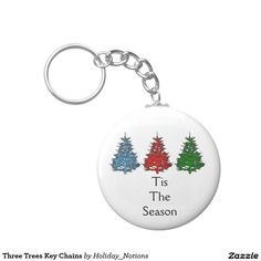 Three Trees Key Chains