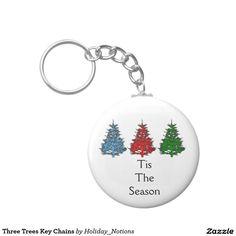 Three Trees Key Chains