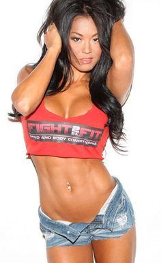 Pro Fitness Model, Belinda (Kim) Kiriakou