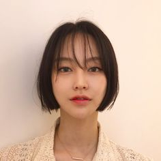 32 Layered Bob Hairstyles : Add These Hot Layers to Your Haircut Now - Style My Hairs Asian Short Hair, Asian Hair, Short Hair Cuts, Short Hair Styles, Korean Short Hairstyle, Bob Haircuts For Women, Short Bob Haircuts, Bobs For Thin Hair, Bob Haircut With Bangs