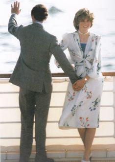 Charles & Diana...headed for honeymoon