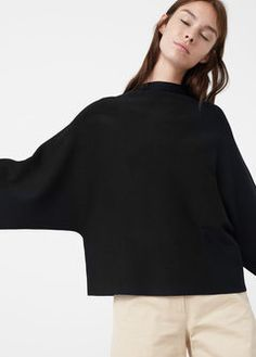 Pull-over col cheminée