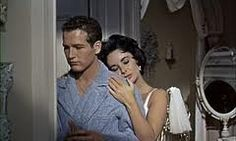 Cat on a hot thin roof (1959), Paul Newman and Elizabeth Taylor