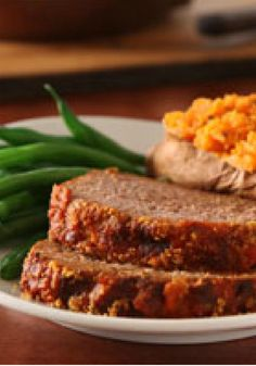 Parmesan Meatloaf – Here's meatloaf recipe with a decidedly Italian influence, featuring zesty spaghetti sauce and Parmesan seasoning.