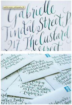 I love the color and shading in this handwriting sample Handwriting Styles, Calligraphy Handwriting, Calligraphy Letters, Penmanship, Typography Letters, Types Of Lettering, Script Lettering, Typography Quotes, Lettering Design
