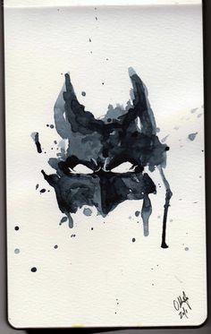 watercolor batman | Batman Watercolor by ~Tyleen on deviantART