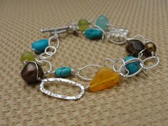 perfect for spring!  handmade jewelry