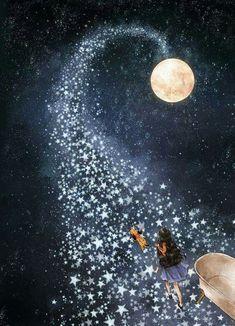 La vida con tantos andares.  Los sueños la realidad caminos luminosos a la hermana luna. La Wale