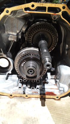 The inside of my humble Ford does not look as pristine as these gears.  Because I never got any preventative maintenance from my mechanic, my car is now broken beyond repair.  Currently, it struggles along the road with its engine light flashing.  Now I know how important tune-ups and minor adjustments can be for my car.