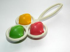 Multicolor kids toddlers rattle  Russian soviet by BackToUSSR, $9.50