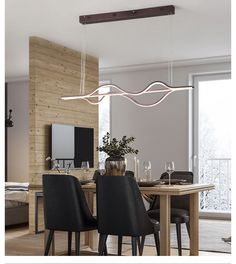 Lighting Garner - Coffee Finish Modern Led Dimmable Chandelier – Lightmopolis Led Pendant Lights, Pendant Lamp, Dining Room Lighting, Chandelier Lighting, Nordic Interior, Interior Design, Hotel Decor, Color Crafts, Coffee Colour