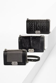 Chanel Boy bags                                                                                                                                                                                 More