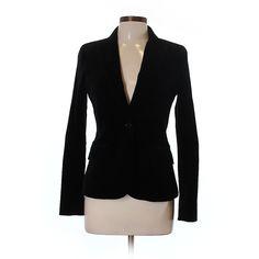 Theory Blazer (1,655 HNL) ❤ liked on Polyvore featuring outerwear, jackets, blazers, black, theory blazer, theory jacket and blazer jacket