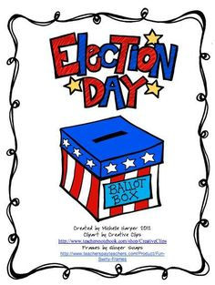 Election Day Freebie product from No-Monkey-Business on TeachersNotebook.com