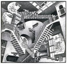 I have always loved his work. Escher